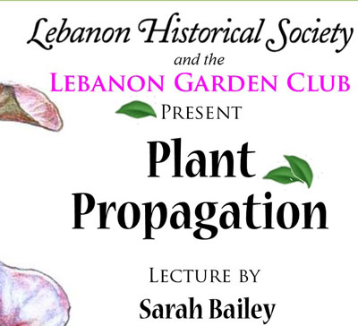 Plant Propagation Talk - 6:30 pm