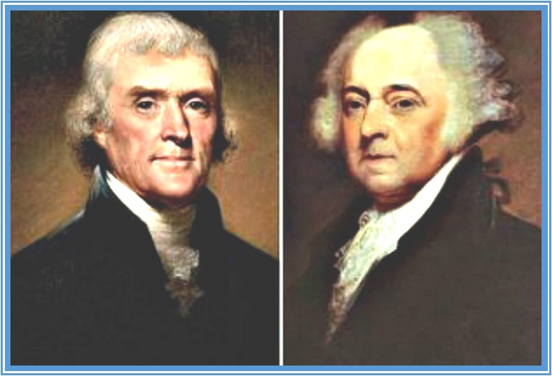 John Adams & Thomas Jefferson - A Presentation by George Baker