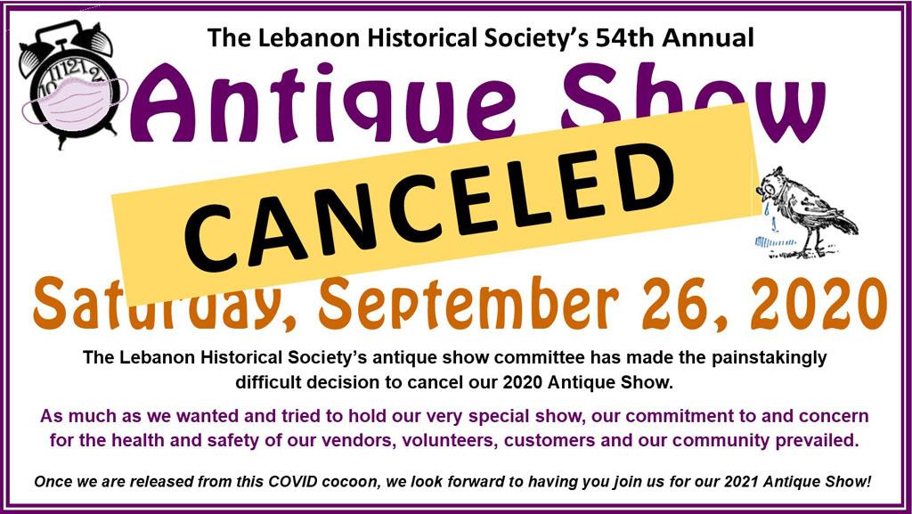 Annual Event:  54th Annual Antique Show